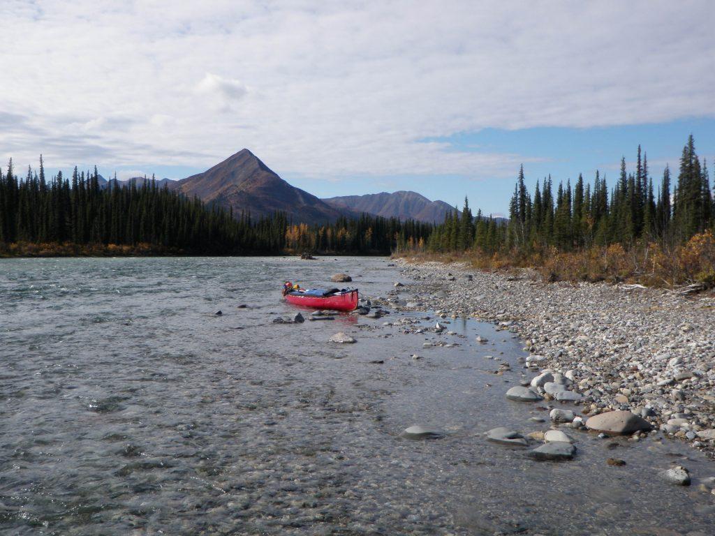 Bonnet Plume River Canoe Route
