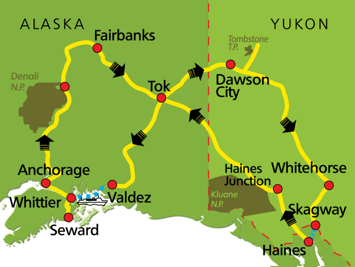 Alaska-Yukon-Highlights-map
