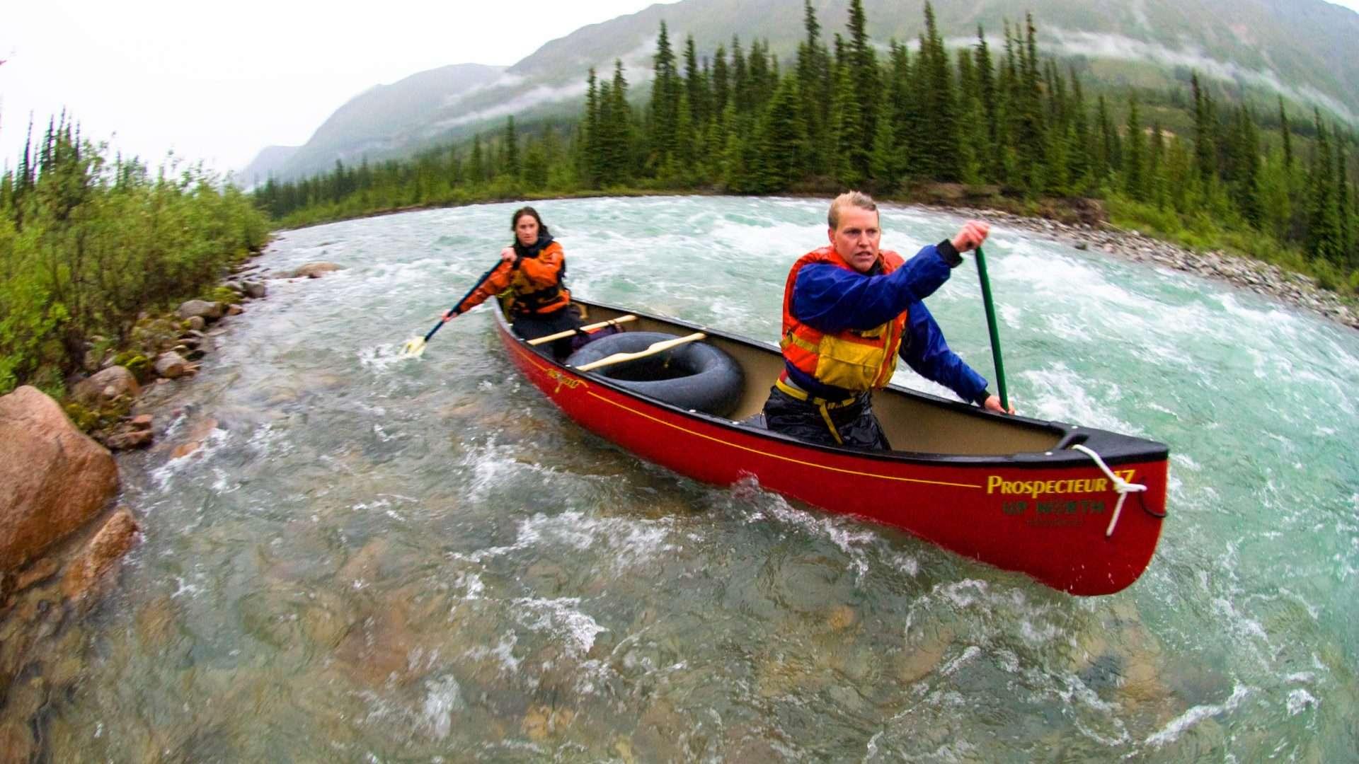 Die besten Wildwasserflüsse im Yukon