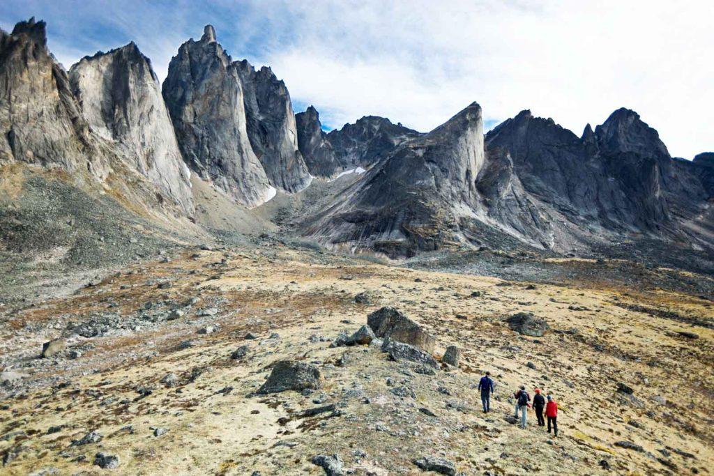 Explore Remote Valleys -Trekking Tombstone Mountain 03