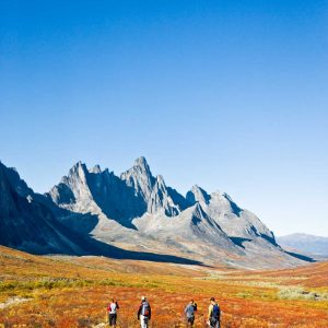 Explore Remote Valleys -Trekking Tombstone Mountain beautiful landscape