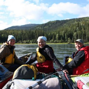 Paddling with the Girls on the Yukon River - Fort Selkirk