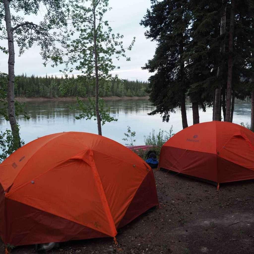 Yukon River – The Classic – Lake Laberge to Dawson City - Campsite Carmacks