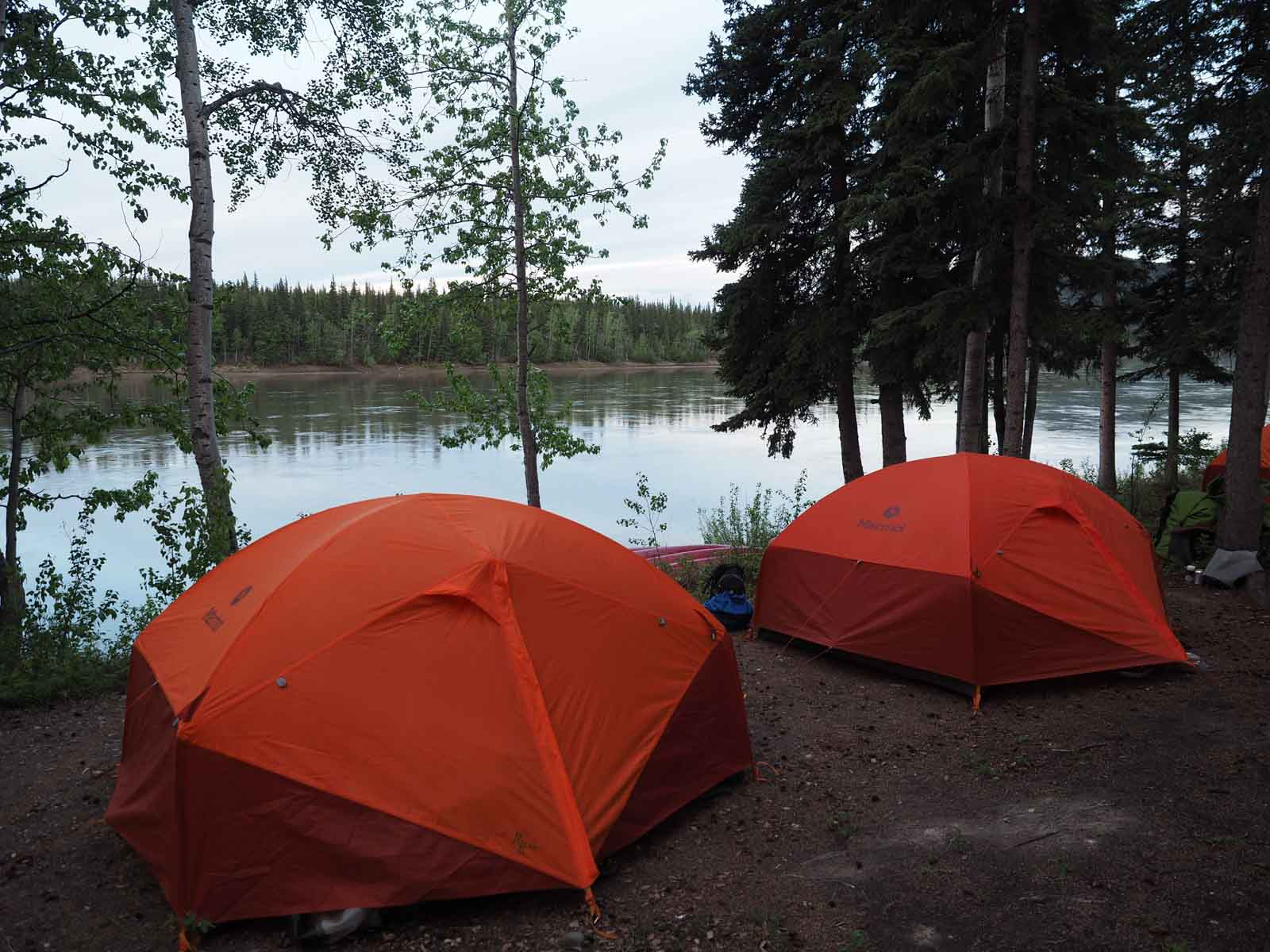 Yukon River – The Classic – Lake Laberge to Dawson City - Campsite Carmacks