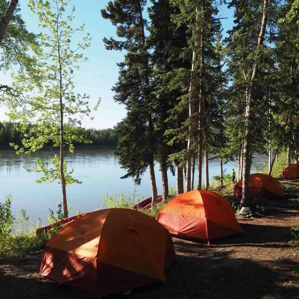 Yukon River - Carmacks to Dawson - Campside Carmacks.jpg
