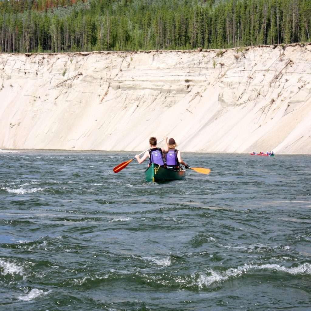 Spirit of the Yukon- Teslin River Canoe trip on the river