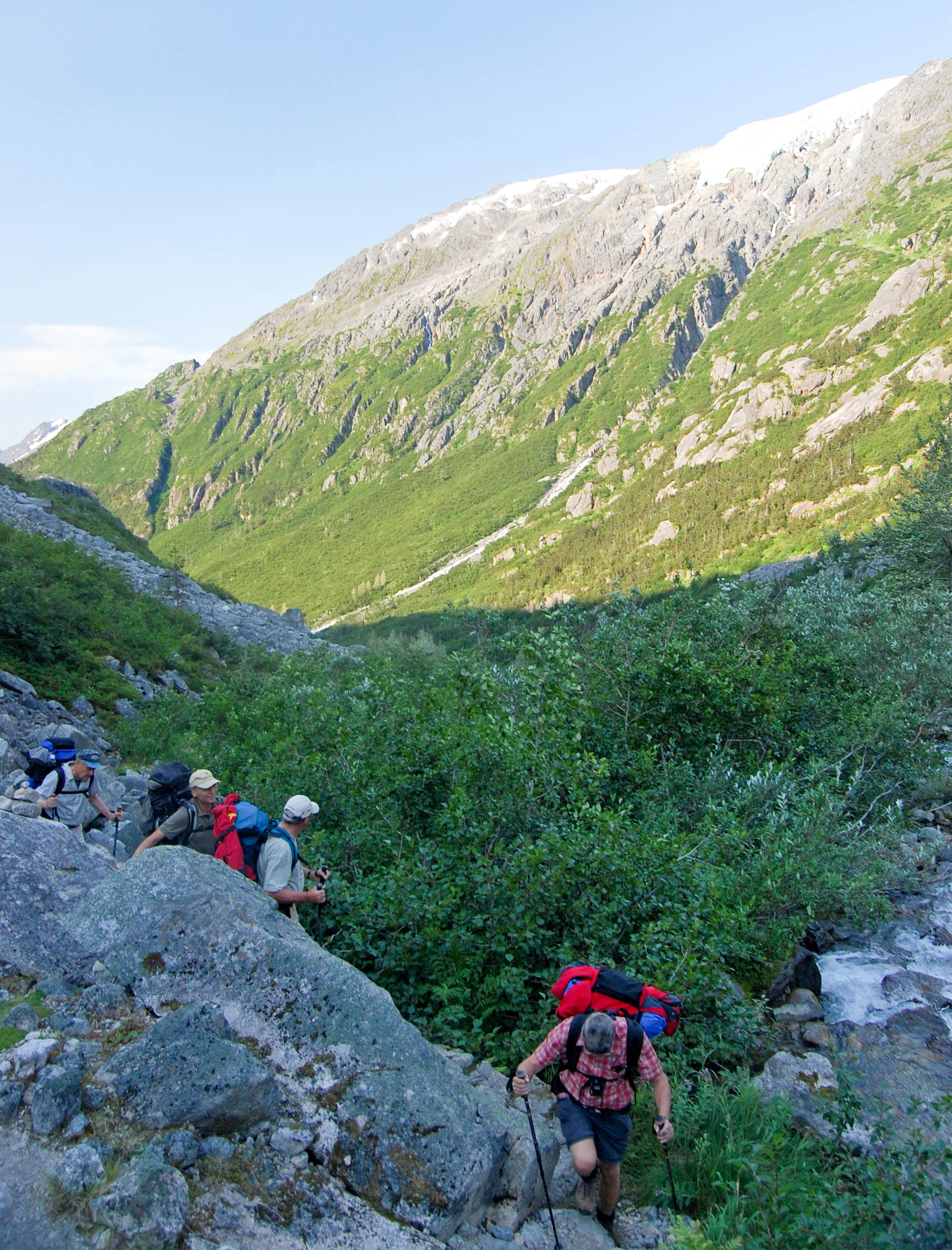 Stampeders Route - Chilkoot Trail - 01