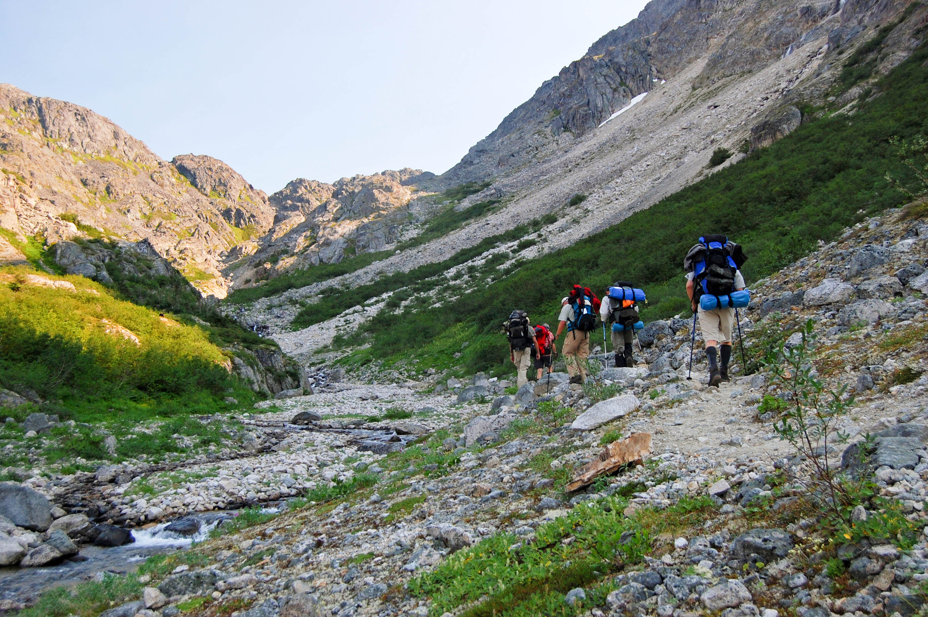 Stampeders Route - Chilkoot Trail - 03
