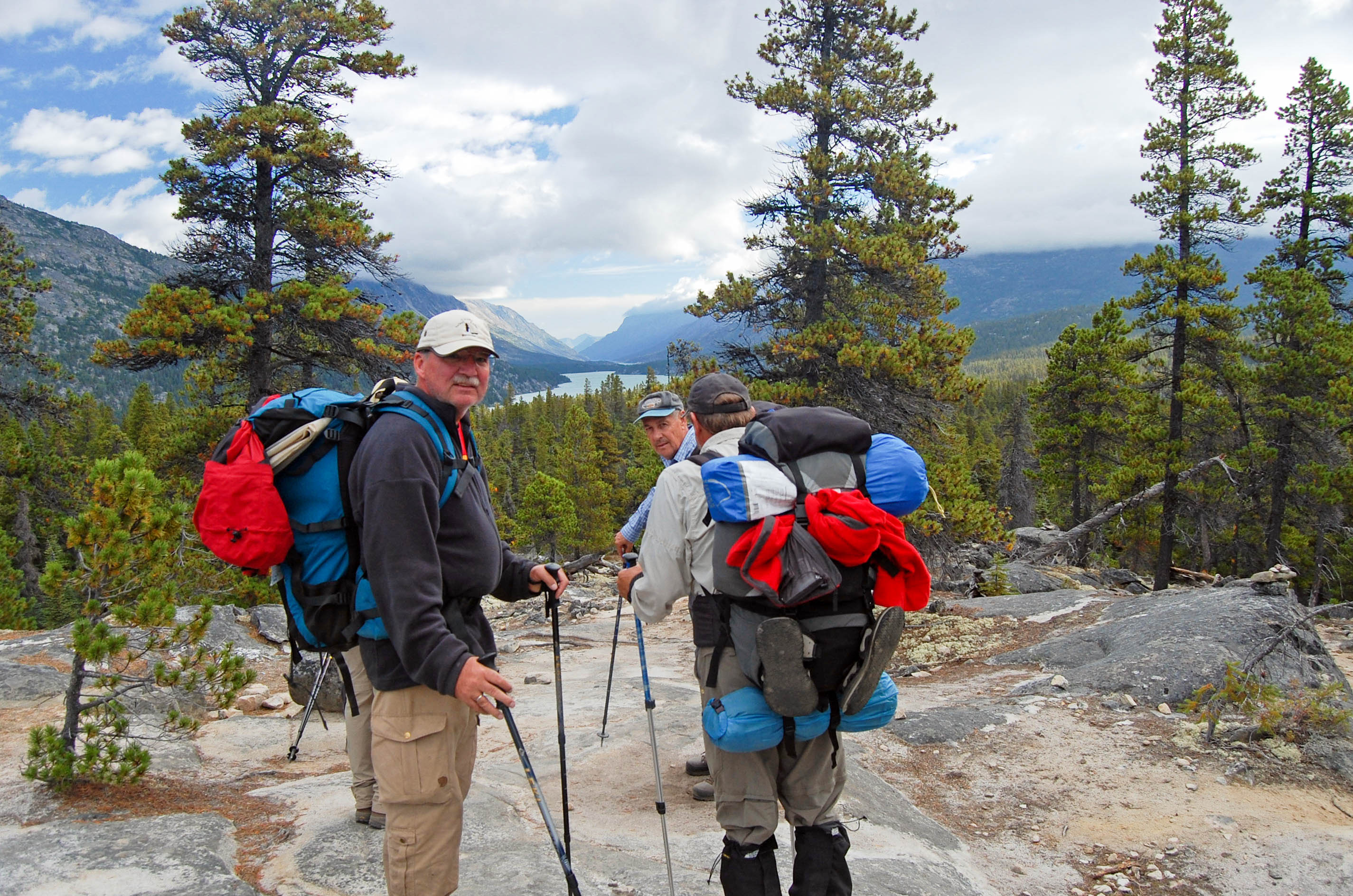 Stampeders Route - Chilkoot Trail - Bennett Lake
