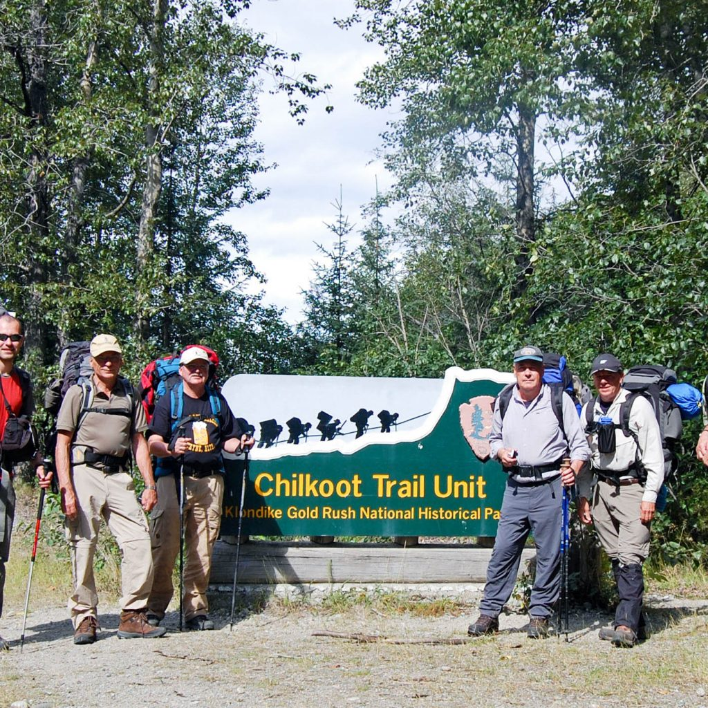 Stampeders Route - Chilkoot Trail - Start