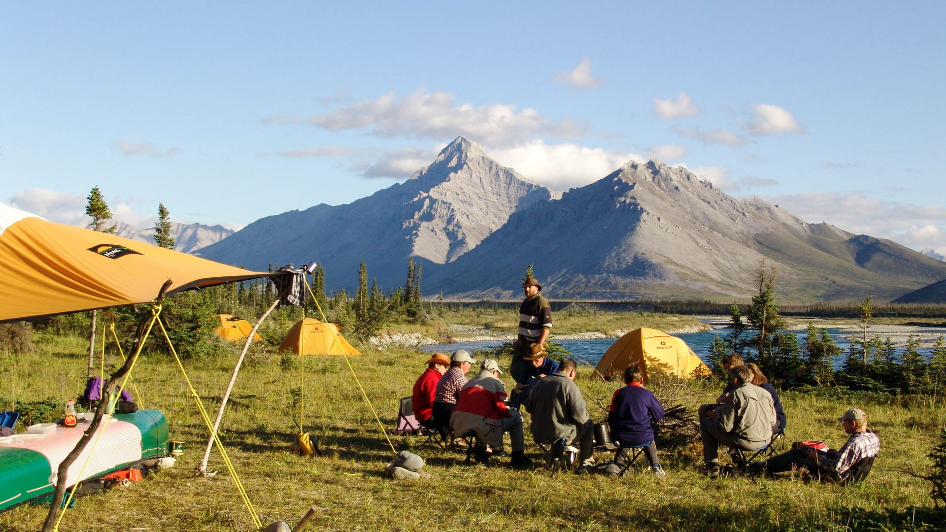 The Heart of the Yukon - Wind River fantastic landscapes