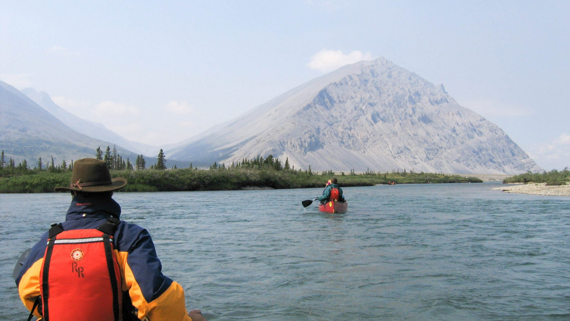 The Heart of the Yukon - Wind River on the river