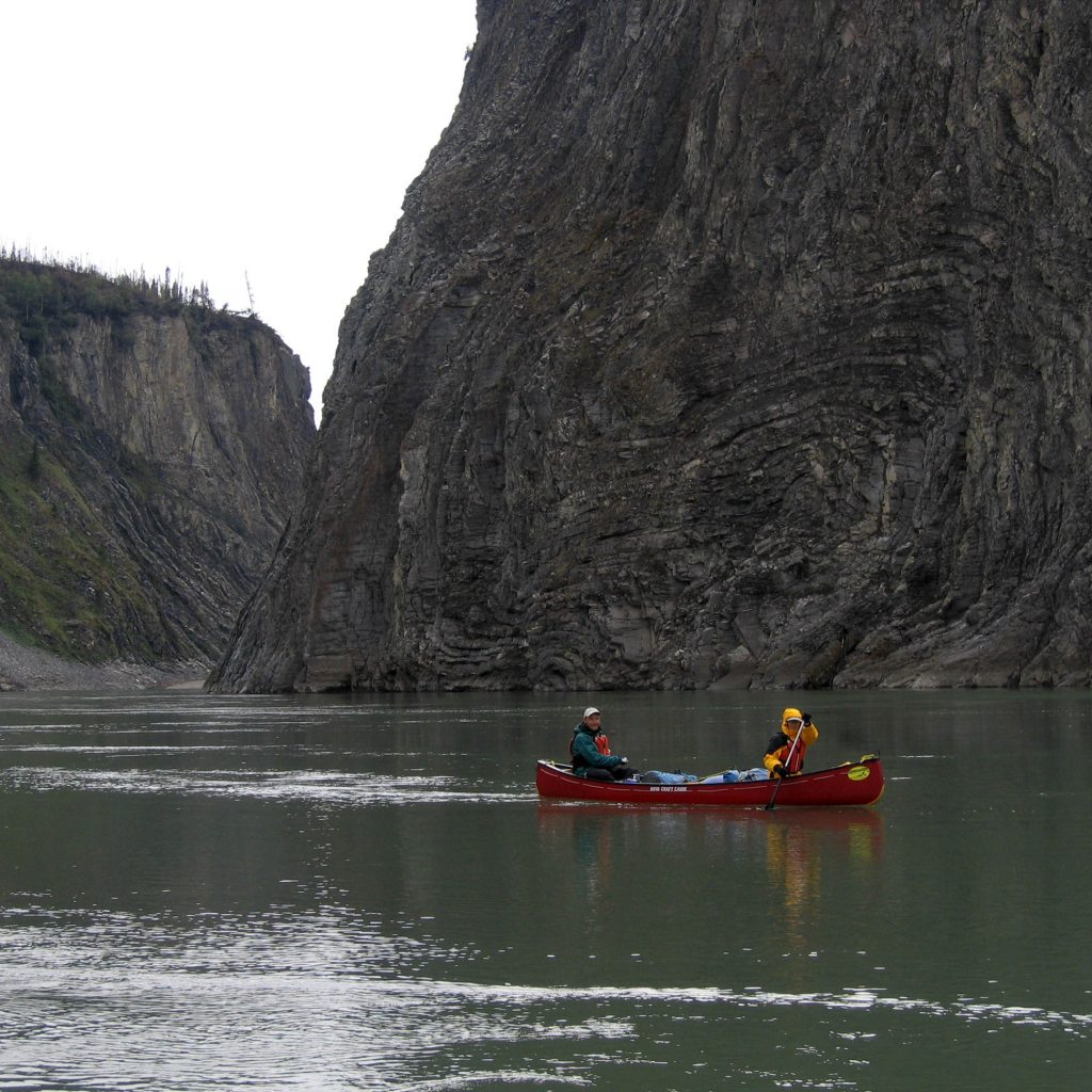 The Heart of the Yukon - Wind River - on the river
