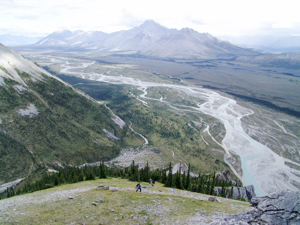 The Heart of the Yukon - Wind River - the river