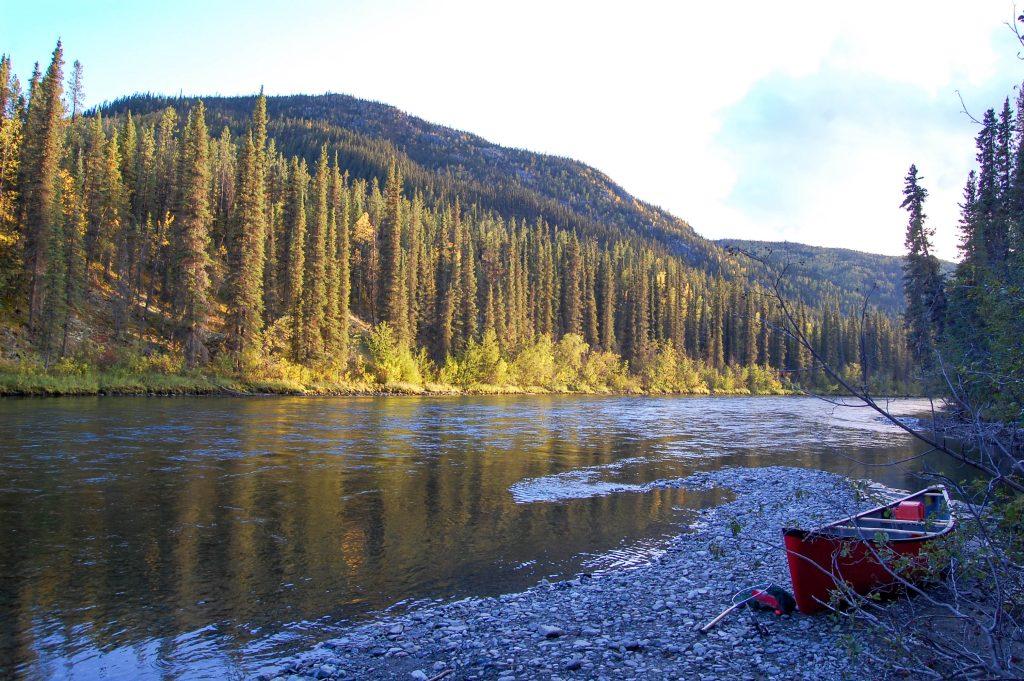 Der Klondiker - Big Salmon River - stunning landscape