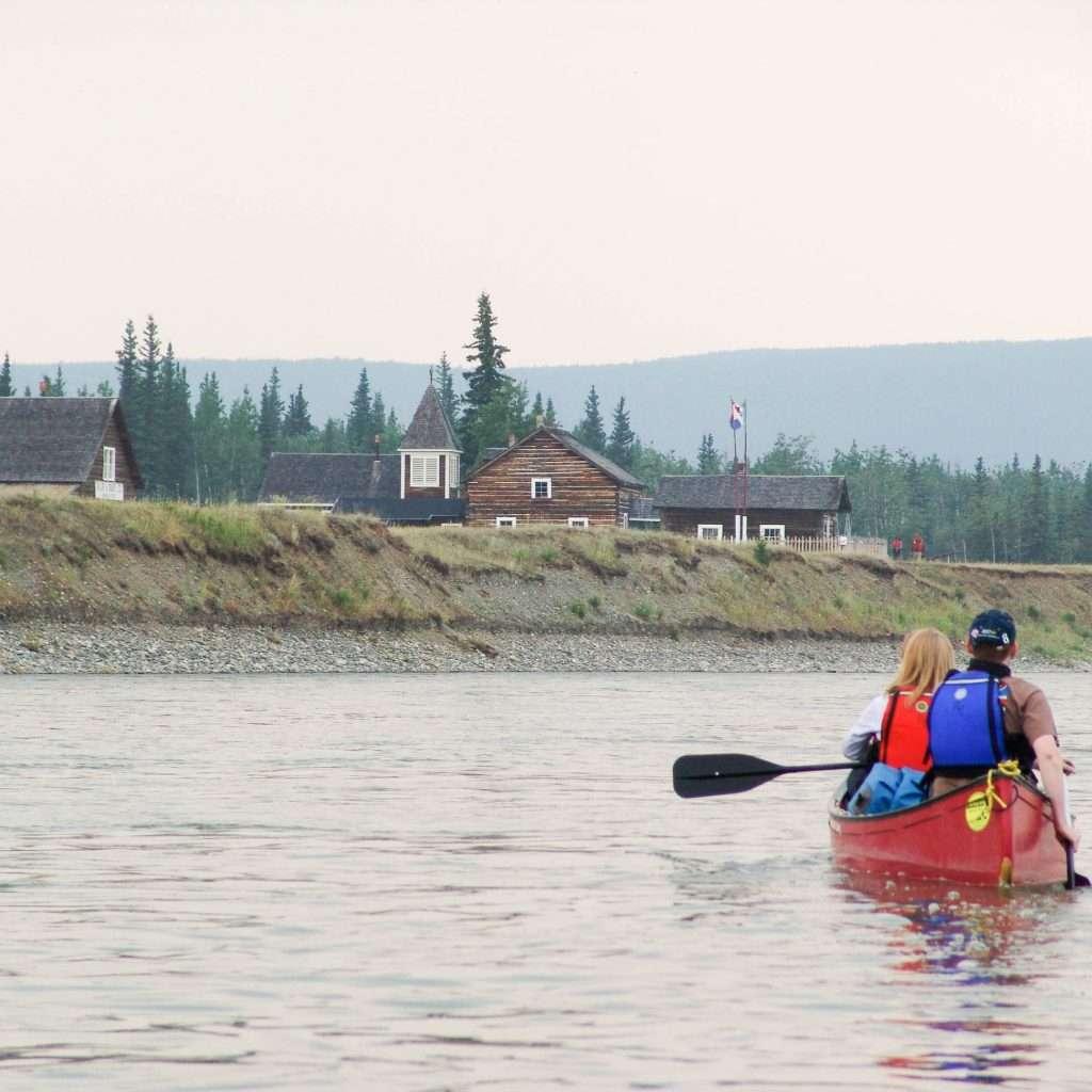 Yukon River: The Classic (Carmacks to Dawson City) - Fort Selkirk