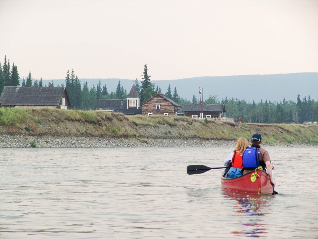 Yukon River: The Classic (Carmacks to Dawson City) - Fort Selkirk