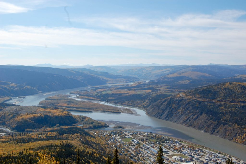Yukon River Tour - Carmacks bis Dawson City - Stadt Dawson