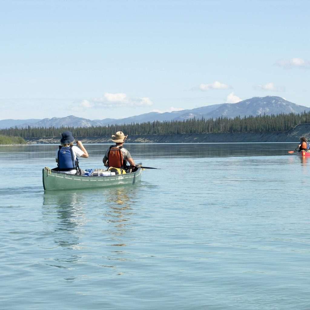 Yukon River Tour - Lake Laberge to Carmacks - Canoe on the Yukon River