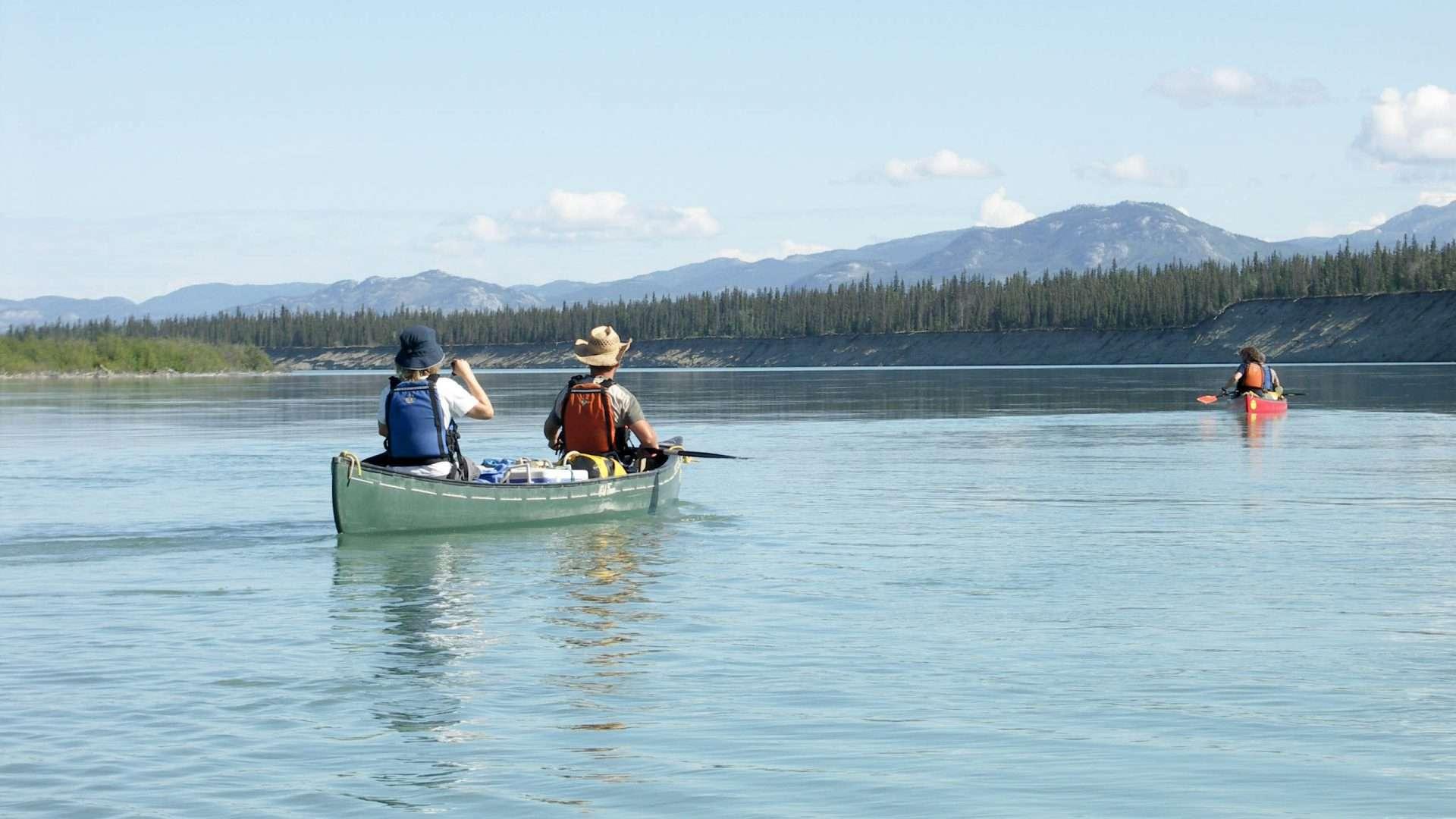 Yukon River Tour - Lake Laberge bis Carmacks - Auf dem Yukon River