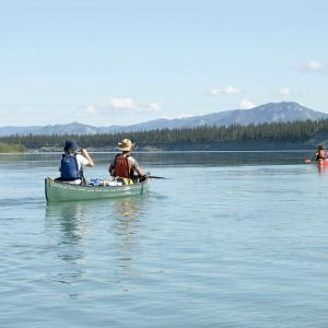 Yukon River Tour - Lake Laberge to Carmacks - Canoe on the Yukon River