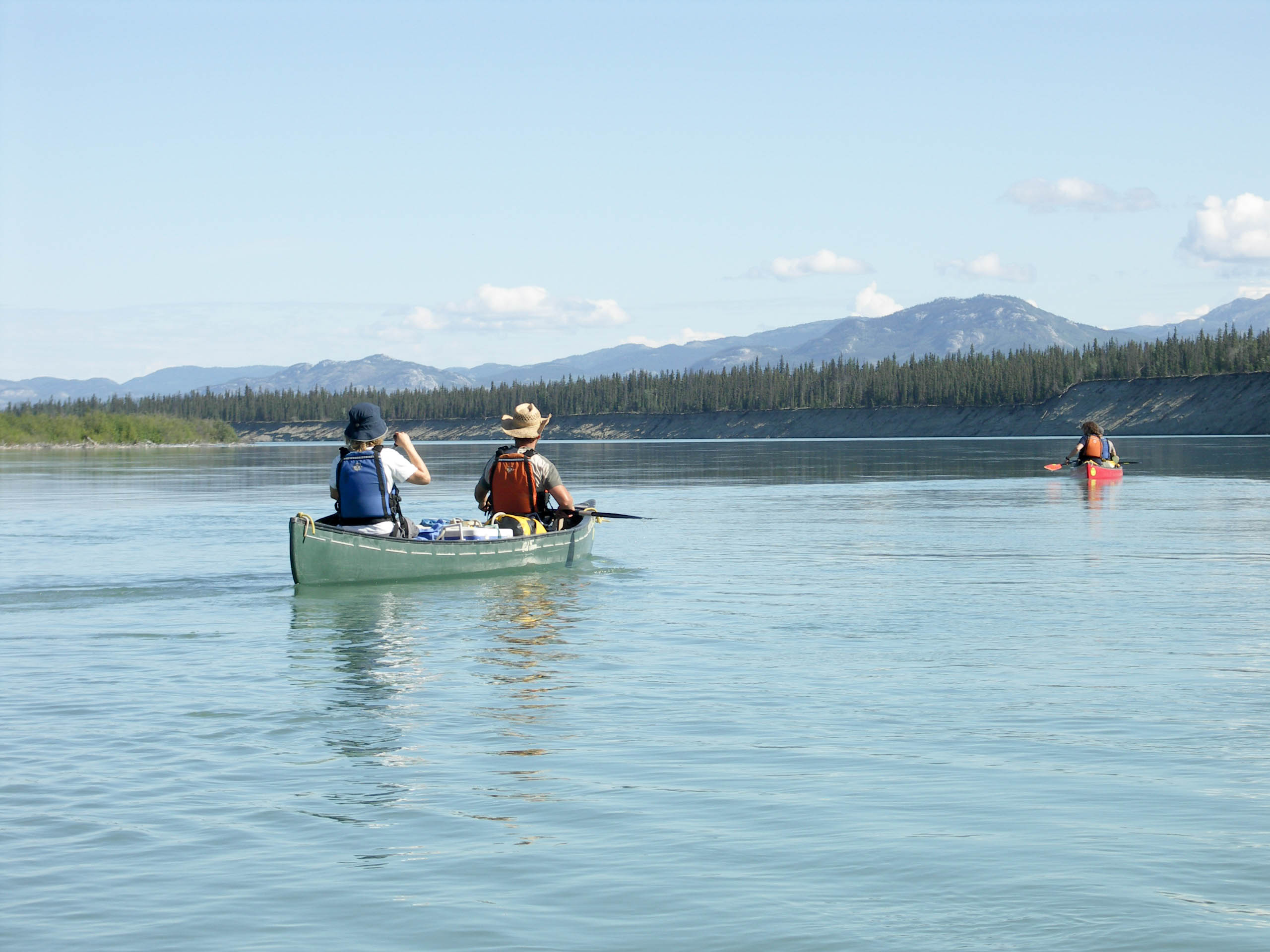 Excursion de fleuve de Yukon | Lac Laberge ‡ Carmacks