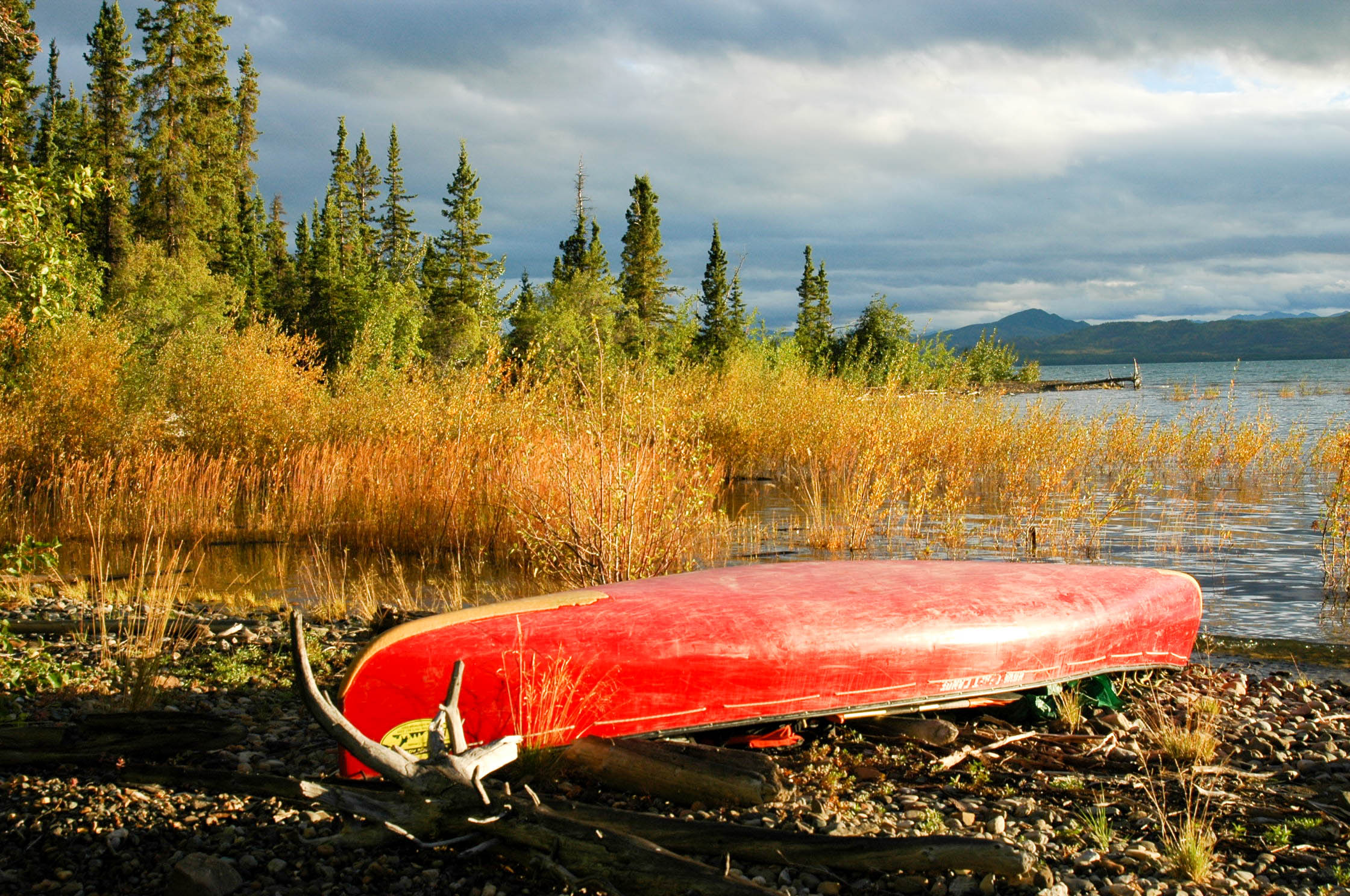 Yukon River Tour - Lake Laberge bis Carmacks - Kanu