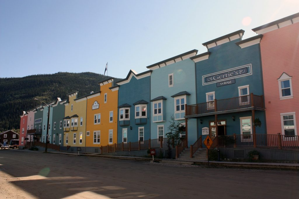 Yukon River - Carmacks to Dawson - Dawson City.jpg