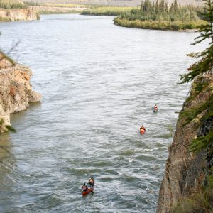 Yukon River - The Classic - Lake Laberge to Dawson City - Stromschnellen Five Finger Rapids