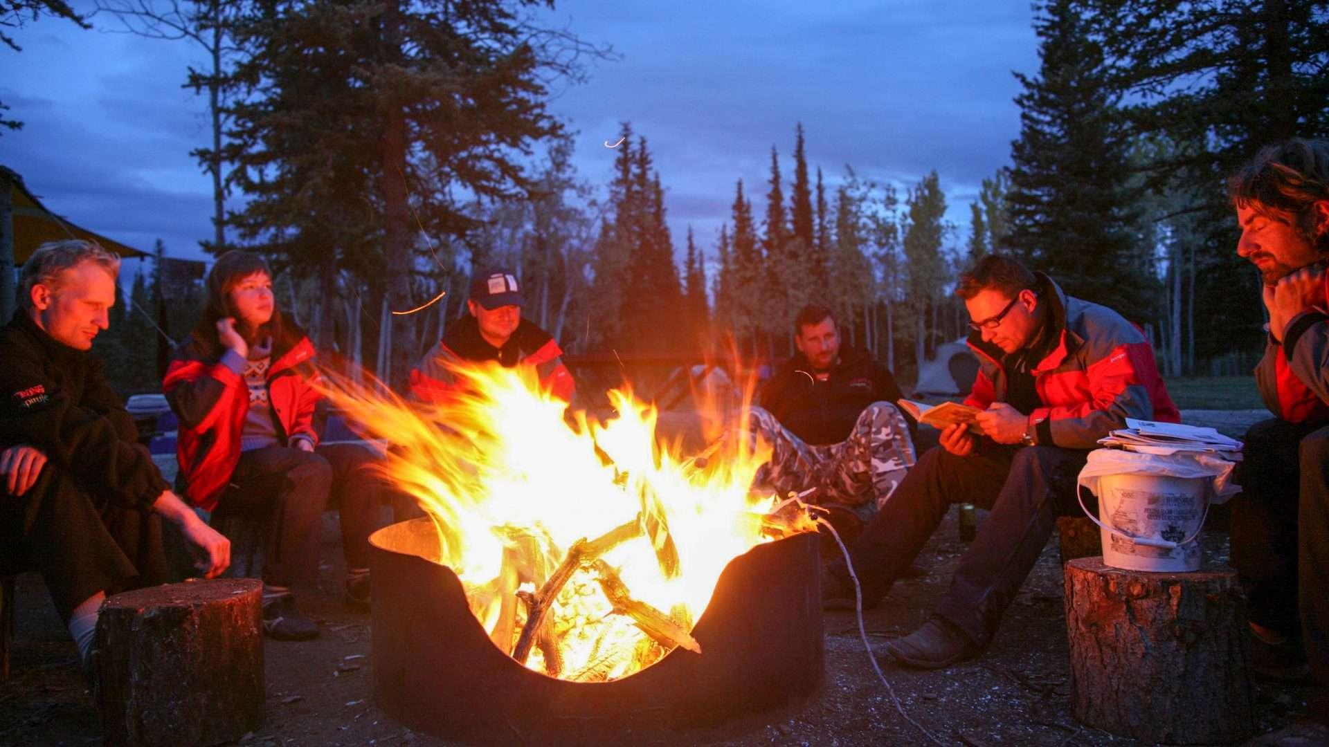 Yukon River – The Classic – Lake Laberge to Dawson City - Campfire