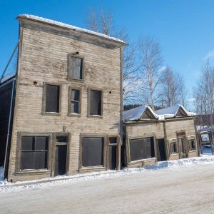 Dawson City Winter