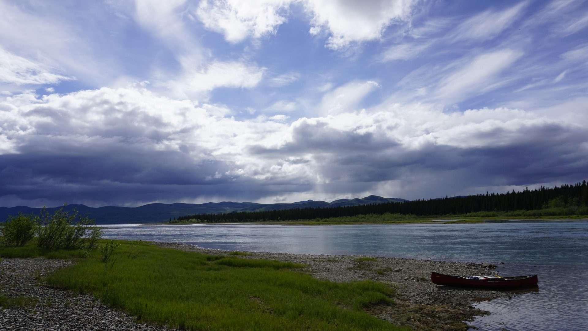 Kluane lake view