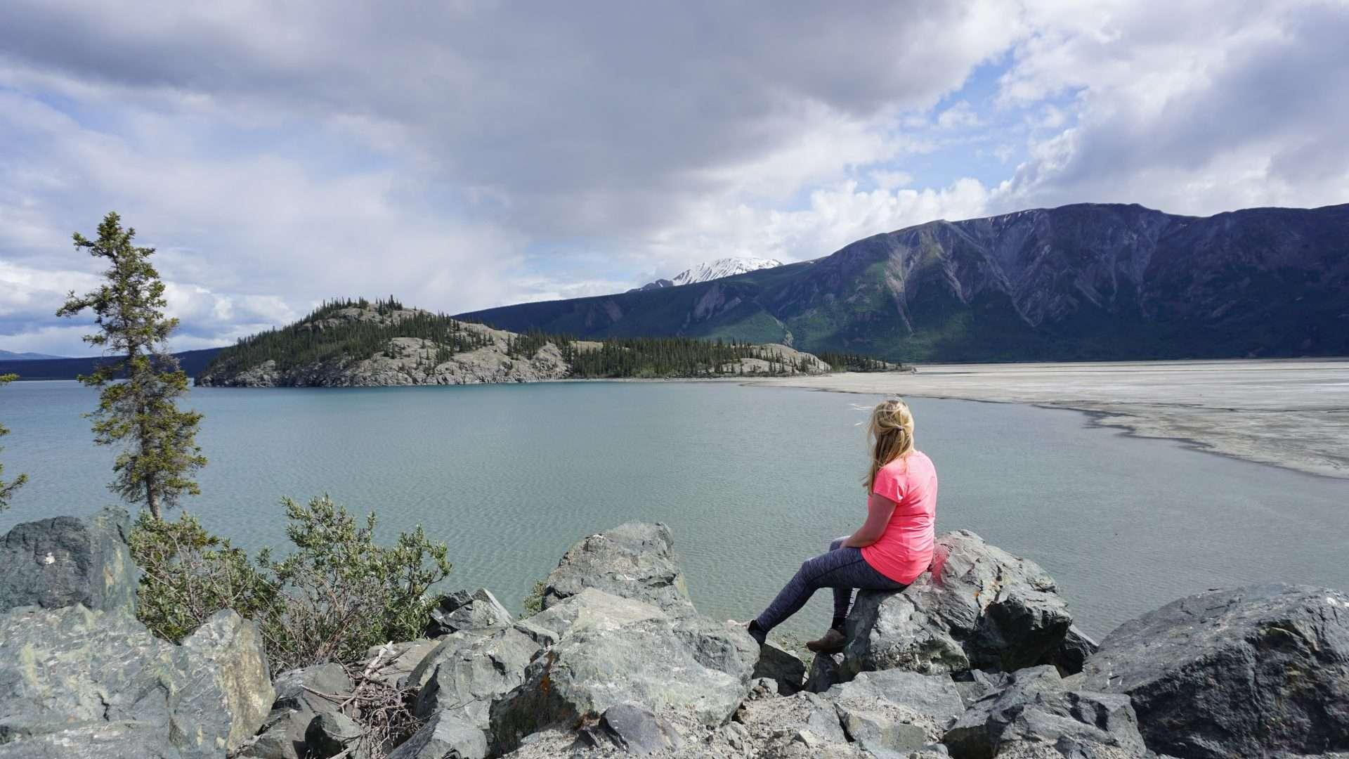 Kluane lake soldier summit