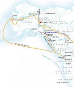 Klondike Map